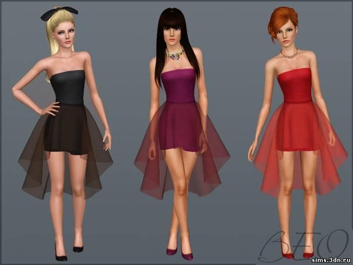Одежда для симс 3 платья